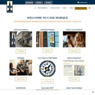 Cask Marque – Cask Ale Accreditation