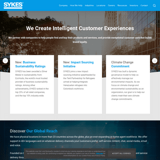 SYKES- International BPO and Customer Experience Solutions
