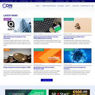 CoinChoose.com - Latest Crypto Prices, Trends, News in 2019