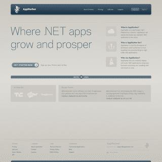 AppHarbor - .NET Cloud Platform as a Service