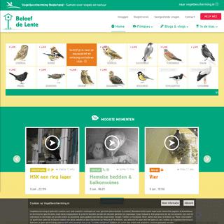 Beleef de Lente - Vogelbescherming