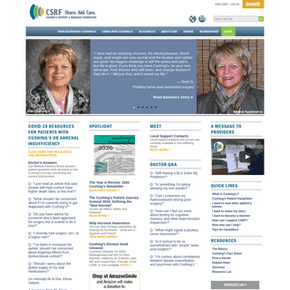 CSRF - Cushing`s Support & Research Foundation - Cushing`s Syndrome Resources