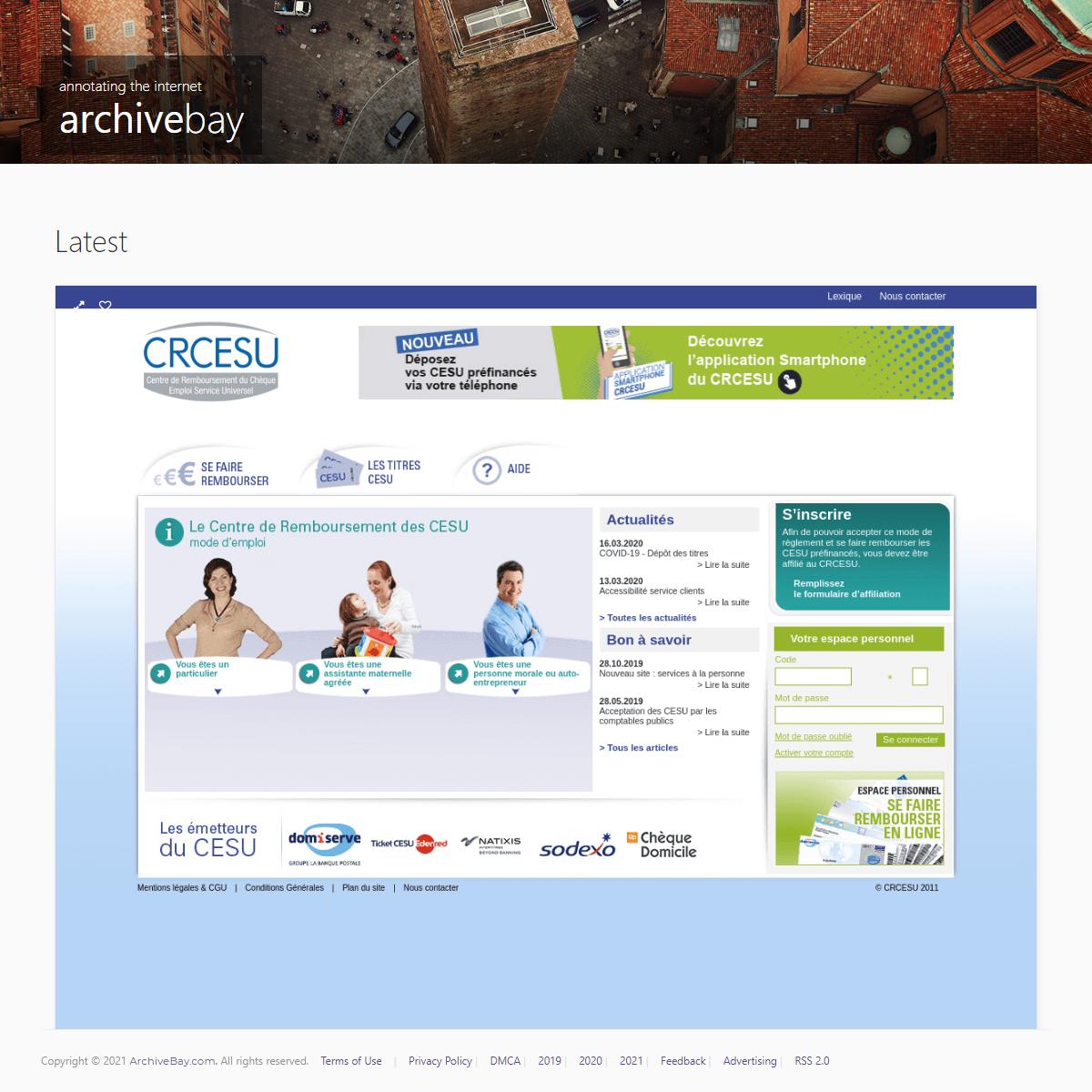 CRCESU centre de remboursement du CESU