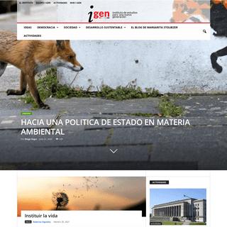 I-GEN - Instituto de Estudios para una Nueva Generación