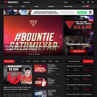 Website Berita Esports Paling Update di Indonesia - INDOESPORTS