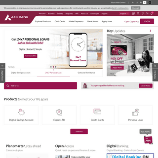 Personal Banking - Internet Banking - Corporate, NRI Banking Services Online - Axis Bank -
