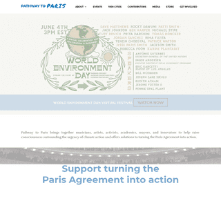 Pathway To Paris – Finding Solutions to Climate Change