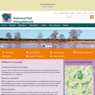 Home - Dwingelderveld, Nationale Parken Drenthe