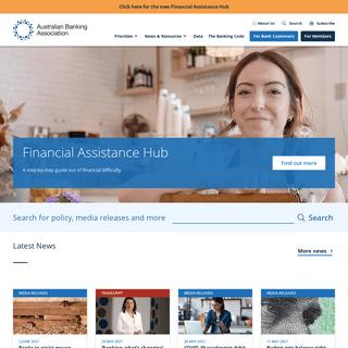 Home - Australian Banking Association