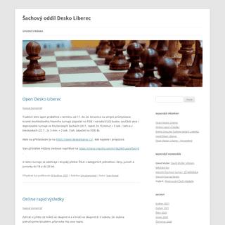 Šachový oddíl Desko Liberec