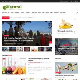 Natural Health News - Natural Health Magazine - Natural Health Tips - Natural Health Solutions