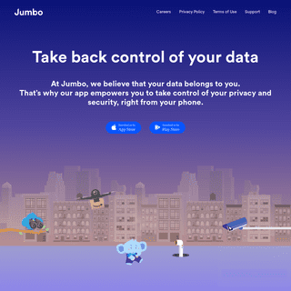 Jumbo- Take back control of your data and privacy