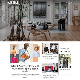 Artful Living - Boutique Lifestyle Magazine - Minneapolis, Minnesota