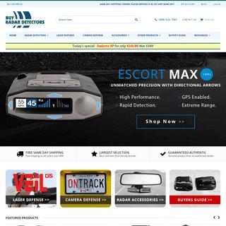 Buy Radar Detectors - The Radar Detector Specialists!