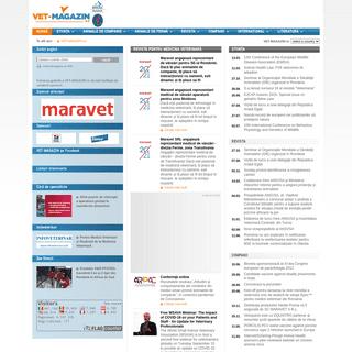 Revistă pentru medicina veterinară - VET-MAGAZIN.ro