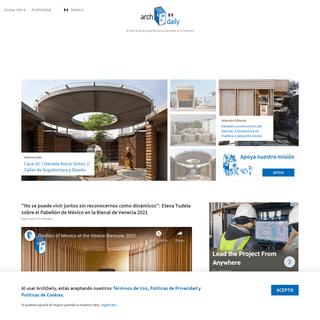 ArchDaily México - El sitio web de arquitectura más leído en español