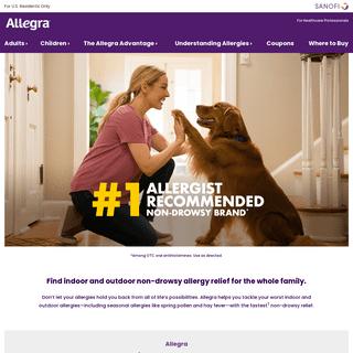 Indoor-Outdoor Allergy Relief For Everyday Allergy Symptoms