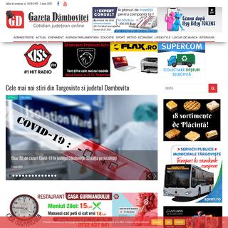 Gazeta Dambovitei - Cele mai noi stiri din Targoviste - Stiri Dambovita