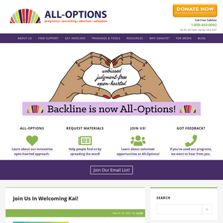 All-Options – all-options pregnancy support