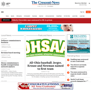 crescent-news.com - Your northwest Ohio news and sports connection