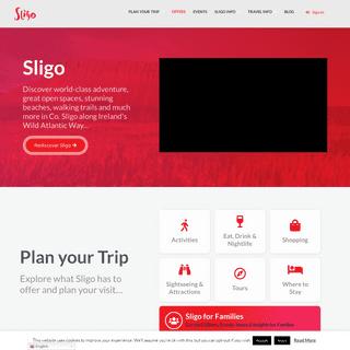 Sligo Tourism- Sligo Is Open - Come Join us for Summer 2020