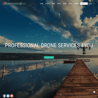 Unmanned4You - The Sharing Economy for Drones.