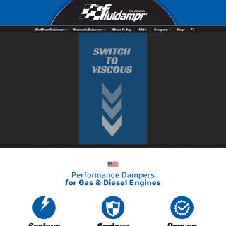 HOME • Fluidampr - Manufacturer of Performance Dampers For Gas & Diesel Engines