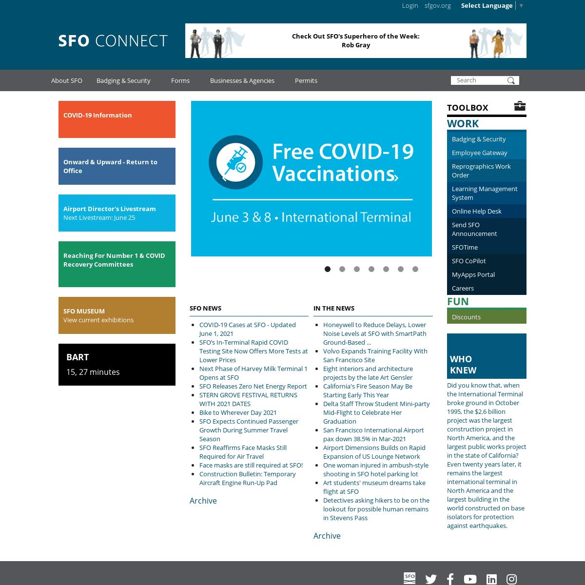 SFO Connect