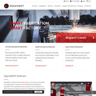 SigmaNEST - Nesting Software - CAD-CAM - Automation