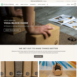 The Best Eco-Friendly Cork Yoga Mats and Yoga Products by Yoloha