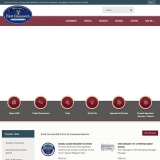 East Greenwich, RI - Official Website