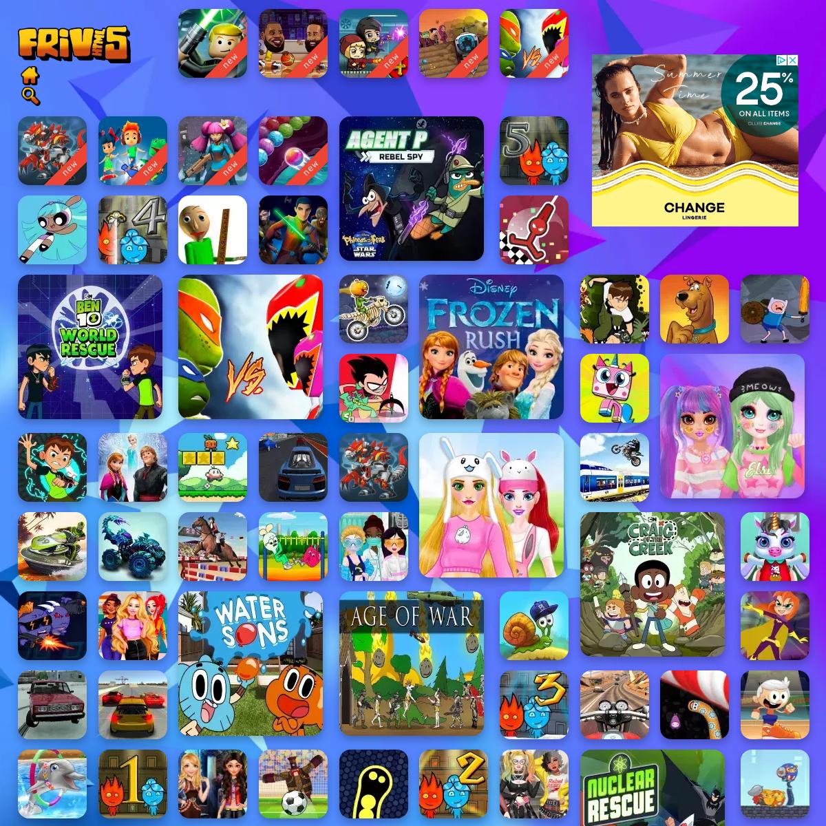 Friv 5 - Friv Games [Juegos Friv - Jogos Friv]