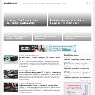 Tout Renault sur un seul site- actualité, moteurs, essais, prix