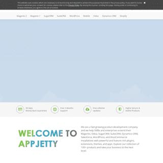 AppJetty - Magento Extensions, WordPress & Sugar-SuiteCRM Plugins, Odoo & Mobile Apps