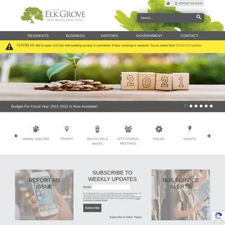 Home - City of Elk Grove