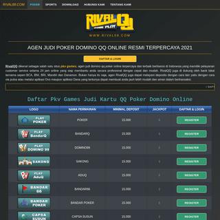Situs Agen Judi Poker Domino QQ Online Terpercaya