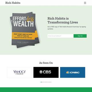 Rich Habits - Aberdeen, NJ - Personal Development