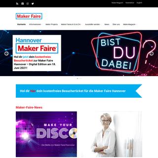 Maker Faire – Das Festival für Inspiration, Kreativität und Innovation