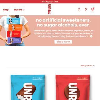 UNREAL® - Chocolate Snacks