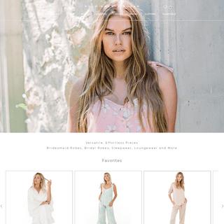 Bridesmaids Dresses, Bridesmaid Robes - Plum Pretty Sugar