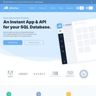 Directus- Open Data Platform for Headless Content Management