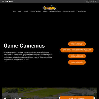 Game Comenius- o jogo da didática