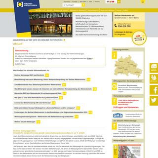 Berliner Mieterverein e.V. - Berlins größte und leistungsfähigste Mieterorganisation mit über 180.000 Mitgliedern