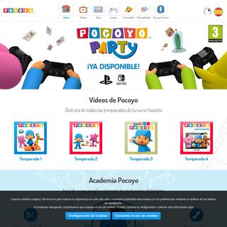 POCOYO.COM - Web Oficial de Pocoyo En Español - Vídeos, Juegos, Dibujos y mucho más.