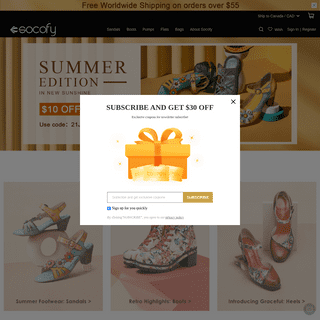 Socofy Official - So Comfy & Fashion Shoes- Free Shipping -