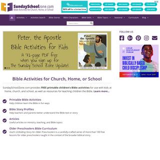 Home - Children`s Bible Activities - Sunday School Activities for Kids