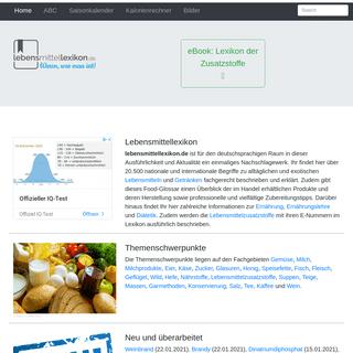 Definition, Warenkunde, Lebensmittelkunde