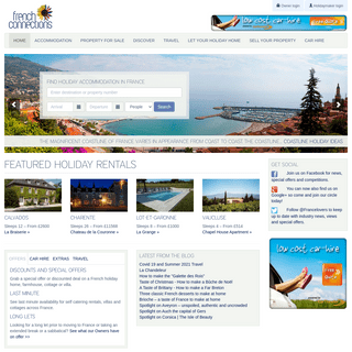 Holidays in France - Holiday Rentals