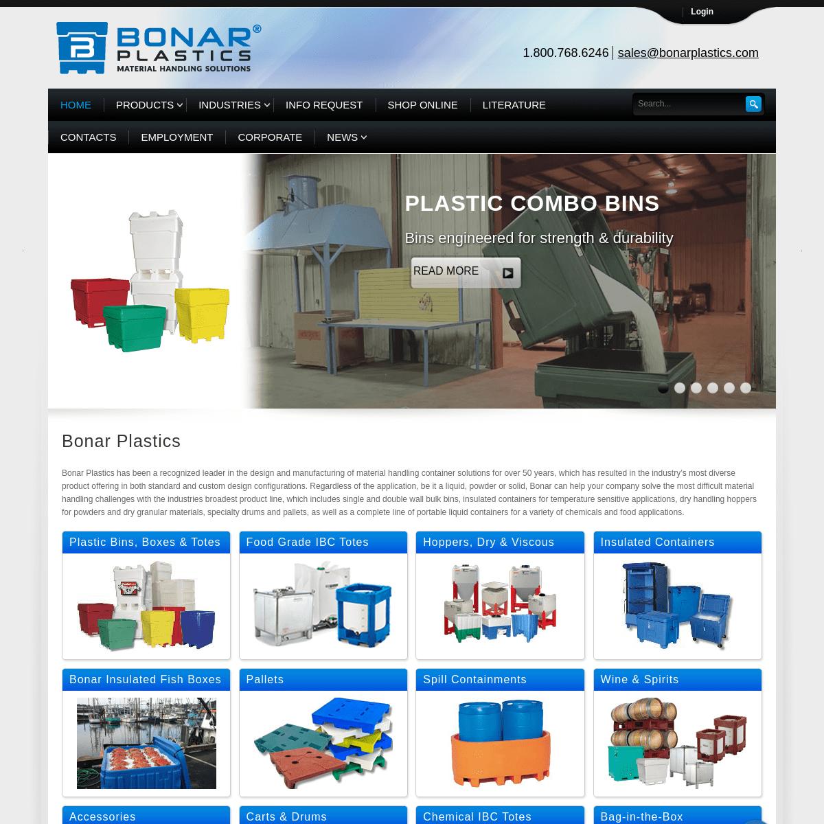 Bonar Plastics - Material Handling Solutions