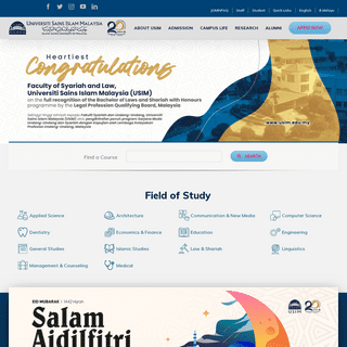 USIM - UNIVERSITI SAINS ISLAM MALAYSIA